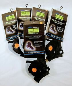Lot of (5) Stable 26 Running Sock Padded Reinforced Performance Socks Large