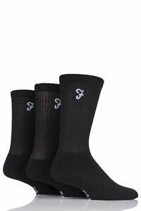 Mens 3 Pair Farah Classic Leisure Sports Socks