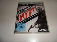 PLAYSTATION 3 PS 3 James Bond: Blood Stone 007