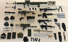1/6 Scale G.I. Joe Lot Assorted Weapons, including Rifles Samurai Sword Bazooka