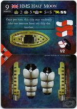Wizkids Pirates Pocketmodel - HMS Half Moon (Ship) DJC 057 C