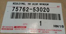 Lexus Toyota OEM 14-16 IS350 Exterior-Rear-Applique Window Trim Left 7576253020