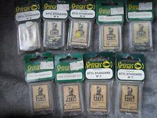 SENSAS Pyramide plomb Pêche Poids Plomb Avec Néoprène Base 30g//50g 2 Pack