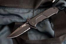 "Russian Tactical Folding knife ""Nemesis"" Black Kizlyar Supreme knive (Aus8)"