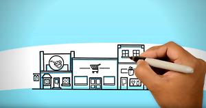 Erklärvideo Werbevideo Imagefilm Videoproduktion Marketing Whiteboard Werbefilm
