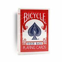 Bicycle - Póquer Puente - 807 Rider Back Rojo Juego de Cartas