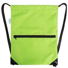 Men Women Sport Gym Sack Drawstring Backpack Bag Fitness Beach Bagpack rucksack