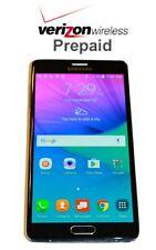 Unlocked Samsung Galaxy Note 4 32GB- No Contract Verizon Prepaid Phone with SIM