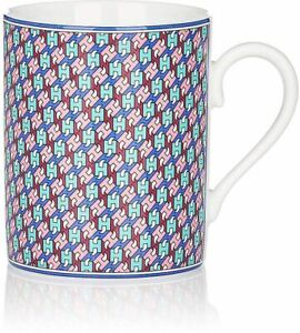 NEW HERMES TIE SET AZURE MUG #P040131P BRAND NEW IN BOX PORCELAIN RARE SAVE$ F/S