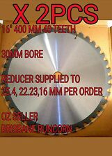"400mm (16"") X 40T 30/ 25.4MM BORE  CIRCULAR SAW BLADE FOR WOOD CUTTING"