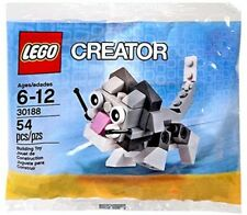 Lego 30188 Cute Kitten Mini Set New Sealed Polybag Creator Free Shipping