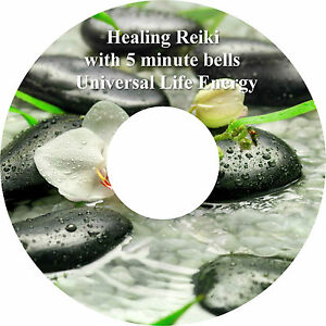 Healing Reiki Music with 5 Minute Bells Relaxation CD Stress Relief Massage Spa