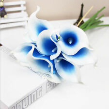 5 Heads Artificial Silk Simulation Fake Flower Calla lily Wedding Decor Flowers