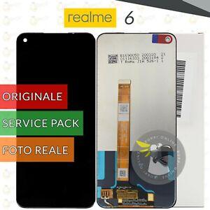 DISPLAY REALME 6 ORIGINALE SERVICE PACK LCD TOUCH SCREEN SCHERMO VETRO RMX2001