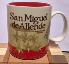 SAN MIGUEL DE ALLENDE Starbucks Mexico Collector Global Icon City Series Mug