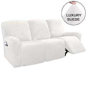 1/2/3 Seater Elastic Recliner Chair Cover Armchair Sofa Chair Cover Slipcover