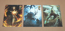 Gwent The Witcher 3 Deck Cards Game Collectible card cartes postales gamescom 2016