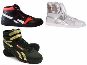 Reebok Damen Schuhe Sneaker Leder Turnschuhe Courtee MID Guilded Update Top Down