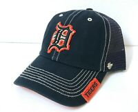 men/women DETROIT TIGERS HAT distressed navy blue Unstructured DAD CAP SNAPBACK