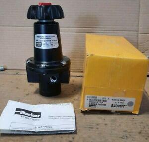 SCHRADER BELLOWS/PARKER  #035622000B  PRESSURE REGULATOR (0-125 PSI)  L101