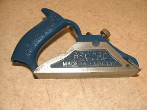 RECORD No78  SPECIAL CHISEL REBATE PLANE /