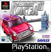 SONY PLAYSTATION 1 Racing Driving Game * LONDON RACER 2 PLAYSTATION