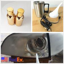 12V 60W Car Headlight Atomization Repair Cup+2 Pcs 30ml Atomized Liquid US Stock
