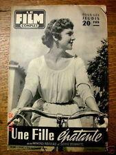 """Le Film Complet n° 559 """" Une fille épatante""""  5/4/1956"""