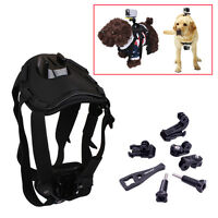 Dog Harness Chest Mount Accessories Kit for GoPro HERO & Sony Action Cam Cameras