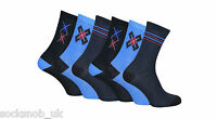 6 Pairs of Mens Fashion Patterned Socks in a gift Box, 6-11 uk, 39-46 eu,7-12 us