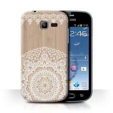 Housses et coques anti-chocs en bois, bambou pour téléphone mobile et assistant personnel (PDA) Samsung
