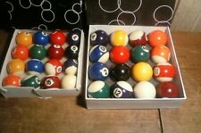 2 SETS SMALL POOL BALLS