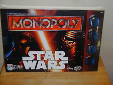 2015 Star Wars Monopoly Game ~ The Force Awakens ~ Limited Edition     NEW!