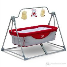 New ! Baby Cradle Crib Hammock with Portable Metal Stand for 1-2 Years Baby Gift