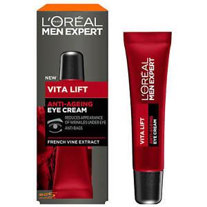 L'Oreal Men Expert Vita Lift - Anti Ageing / Wrinkles Eye Cream 15ml
