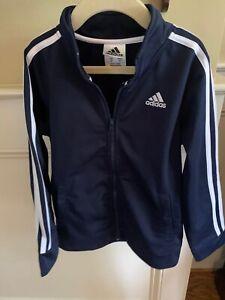 Adidas Youth Boy's Track Jacket Size XS 7 New
