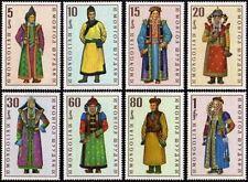 MONGOLIE N°477/484** Costumes régionaux, TB, 1969 MONGOLIA # 524-531 MNH