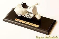 """VESPA Original PIAGGIO Modell """"150 1956"""" - Weiß - 1:18 - Maisto Faro Basso"""