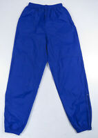 Vintage 90s Nike Purple Unlined Nylon Windbreaker Track Pants Shiny Hip Hop M