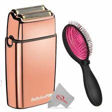 Babyliss Pro foilfx 02 doble lámina rasuradora Inalámbrico Metal + Rosa cepillo húmedo