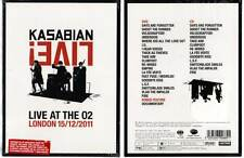 """KASABIAN """"Live At The 02"""" (DVD+CD) 2012 NEUF"""
