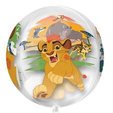 Amscan International 3464901 15-inch Disney The Lion Guard Clear Orbz Foil Bal