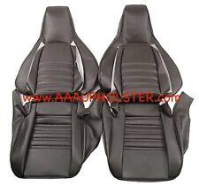 PORSCHE 911 944 951 964 968 STANDARD SEATS UPHOLSTERY RECOVERY KIT 86-94 BLACK