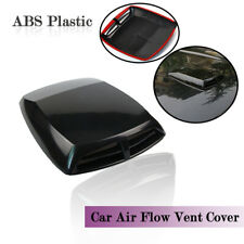 Car 3D Air Flow Intake Hood Scoop Vent Bonnet Cover ABS Plastic Sticker Decorate