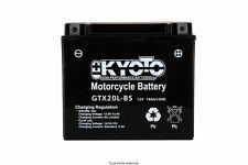 Batterie moto kyoto YTX20L-BS Yamaha XVS 1300 Custom 2014 2015 2016