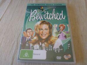 Bewitched - Season Four (5x DVD, 2007) Region 4 Elizabeth Montgomery, Dick York
