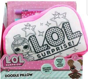 LOL Surprise Doodle and Colouring Plush Pillow Kids Activity