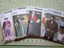 Butterick Making History Patterns Mens Costumes Reenactment Cosplay Steam Cut