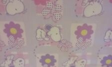 Peanuts BABY SNOOPY BELLE ~~~ Flannel Fabric ~~~ 1 Yard 21 inches by Springs