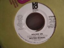 "Dexter Wansel-Holdin' On 7""-MONO/STEREO DEMONSTRATION PRESSING/PROMO!!!!!!!!!!!!"
